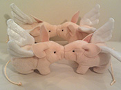 Alfred The Flying Pig and Piglets